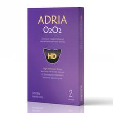 Adria O2O2-Новое поколение «Супердышащих » контактных линз. (2 линзы)
