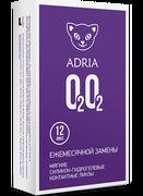 Adria O2O2-Новое поколение «Супердышащих » контактных линз. (12 линз)