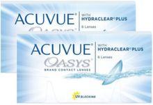 Acuvue Oasys 2 упаковки(возможно выбрать разные диоптрии)